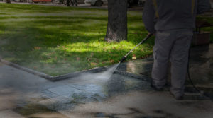 Power washing | Get Growing Landscaping Ltd.