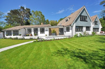 residential landscaping on a new home | Get Growing Landscaping Ltd.